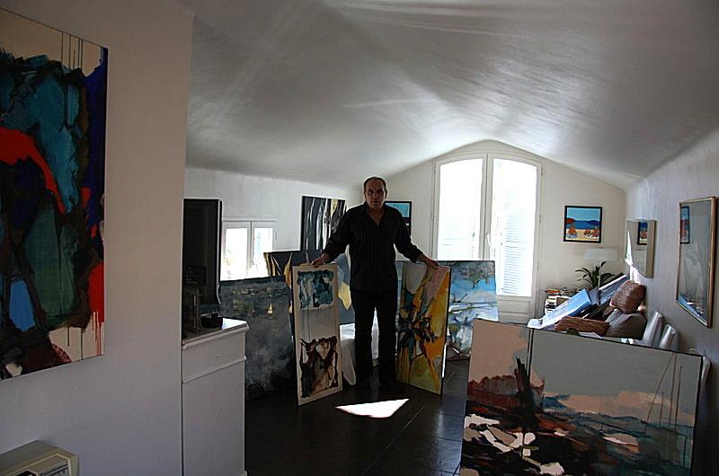 rouvier michel artiste peintre l 39 atelier. Black Bedroom Furniture Sets. Home Design Ideas